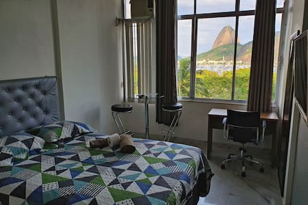 Apartamento com vista de Cinema do Pão de Açúcar