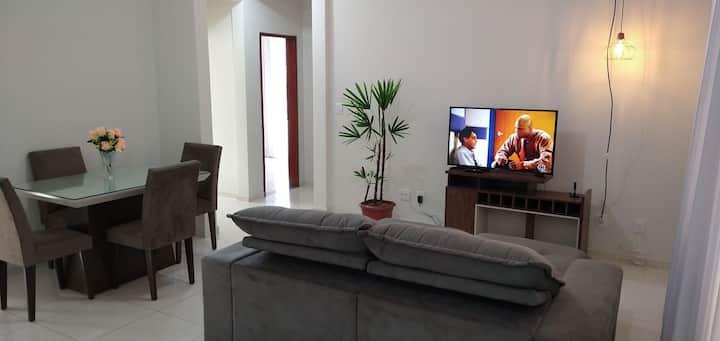 Amplo Apartamento Completo Centro Ouro Branco