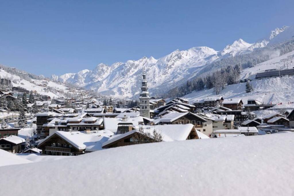 Station de ski La Clusaz, 45min en voiture