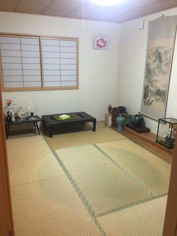 New! private room C guesthouse@near station - 宮崎市 - Casa