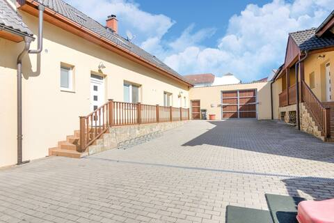 Luxurious Holiday Home in Babice with Swimming Pool