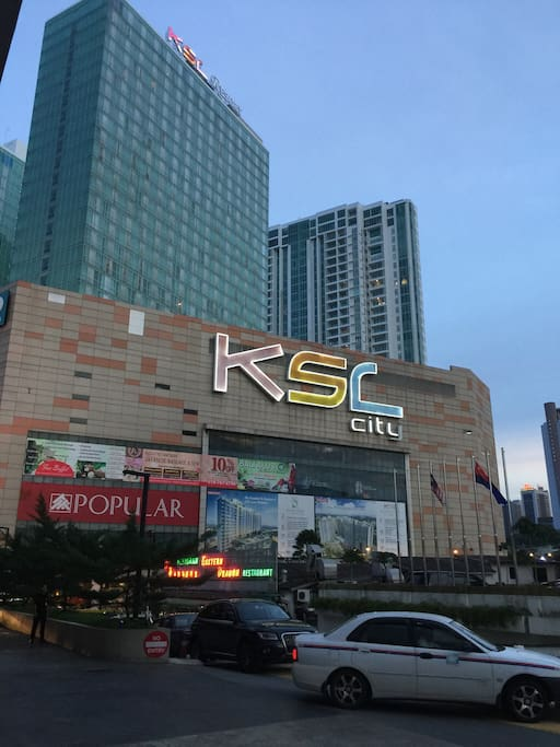 The Apartment above Ksl city mall