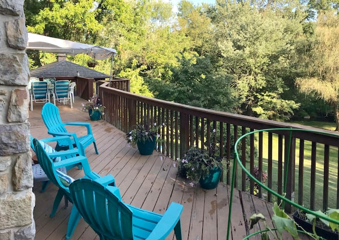 Stunning home near Stonewall and French Creek Park