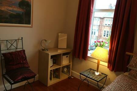 Spacious single bedroom - Glasgow - Bed & Breakfast