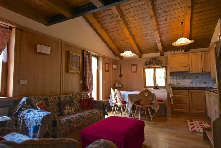 """Cà Dolly"" DolomiTiAmo Your Home in the Dolomites - Villanova - Appartement"