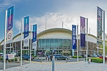 English Institute of Sport & olympic legacy park (5 mins taxi or 20 mins walk)