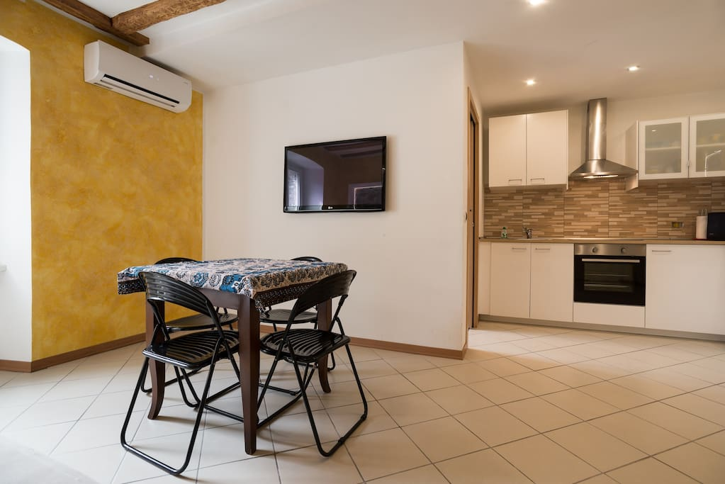 Open Space - Living Room + Kitchen