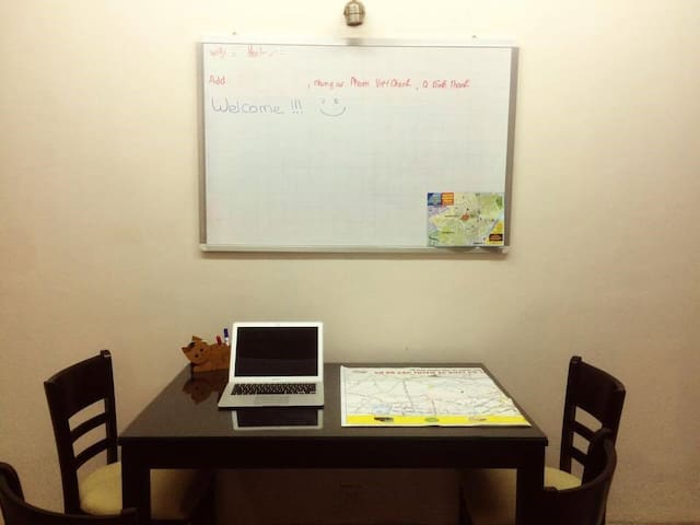 Cozy room in cozy flat with friendly atmosphere - Ho Chi Minh - Apartament