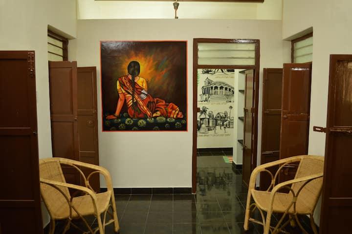 Babu's Nest-Vintage Artistic Home | Posh Mylapore