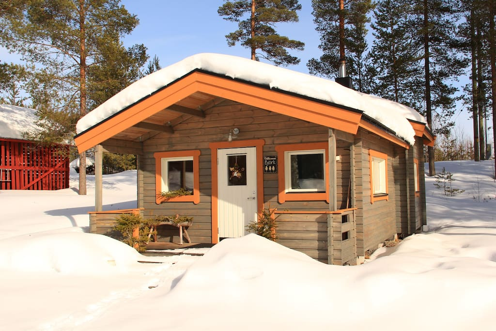"""Our wood cabin """"typical swedish stuga"""""""