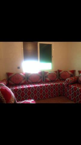 Appartement  calme près de la plage - Sidi Rahal