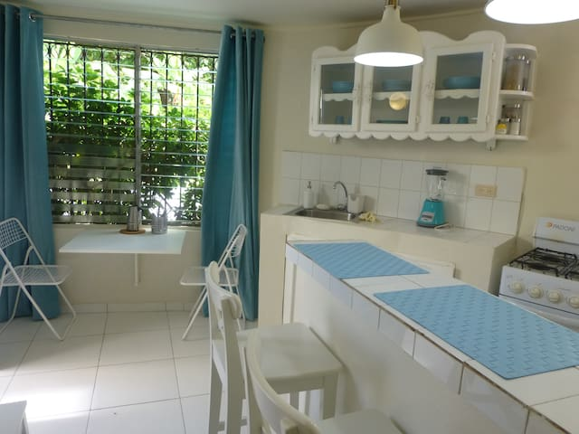 Tiny Hostel Apartment - 2 Blocks from Sea 1-4 pers - Samana - Pis