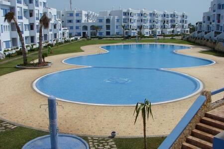 joli appartement à JAWHARA SMIR TETOUAN, Marina - Fnideq