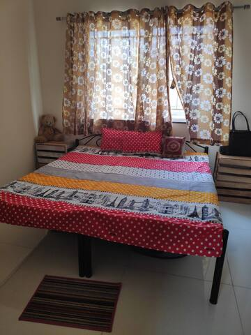 Private room with bathroom & kitchen in Hinjewadi.