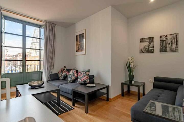 Apartamento dos habitaciones en Plaza Mayor