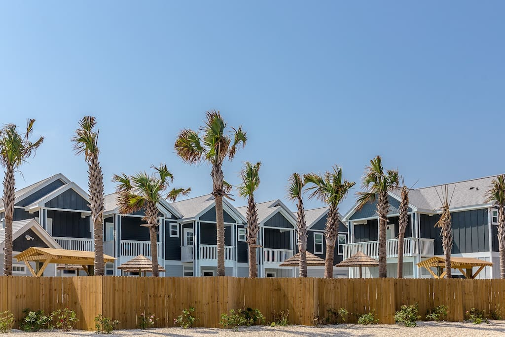 Our townhome is in a new gated community close to the beach!
