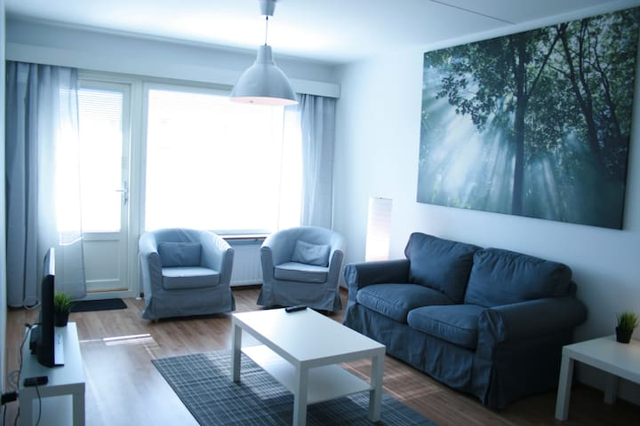 Nice 2-bedroom apartment in Pori - Pori