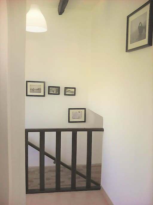 Staircase of your private entrance.