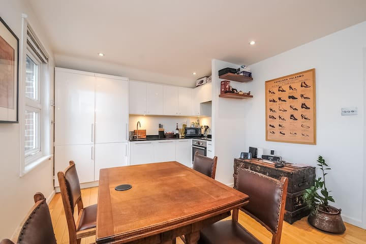 Sunny, cosy one-bed flat in central Hampstead - London - Wohnung
