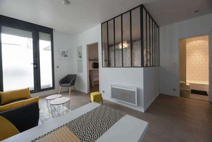 BEAUTIFUL APARTMENT DECORATED WITH CARE - NEAR RENNES CONGRESS CENTER
