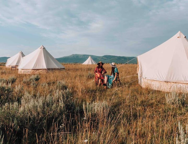 Wander Camp Yellowstone - Tent #16 (Twin)