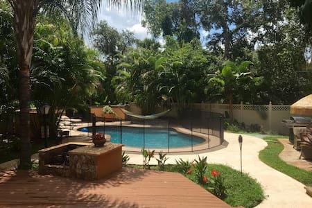 guest home w/ private pool - Sarasota
