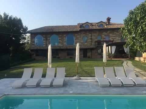 Charming House in Monferrato hills