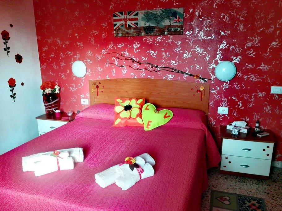 Camera da letto quadrupla con letto a castello / Quadruple room with bunk bed
