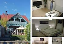 Moderne ruhige 67m² Ferienwohnung auf dem Land