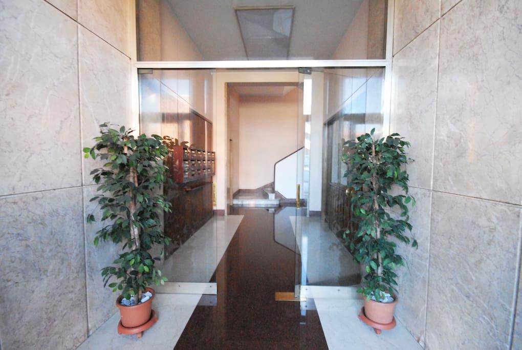 Portone condominiale - building's door