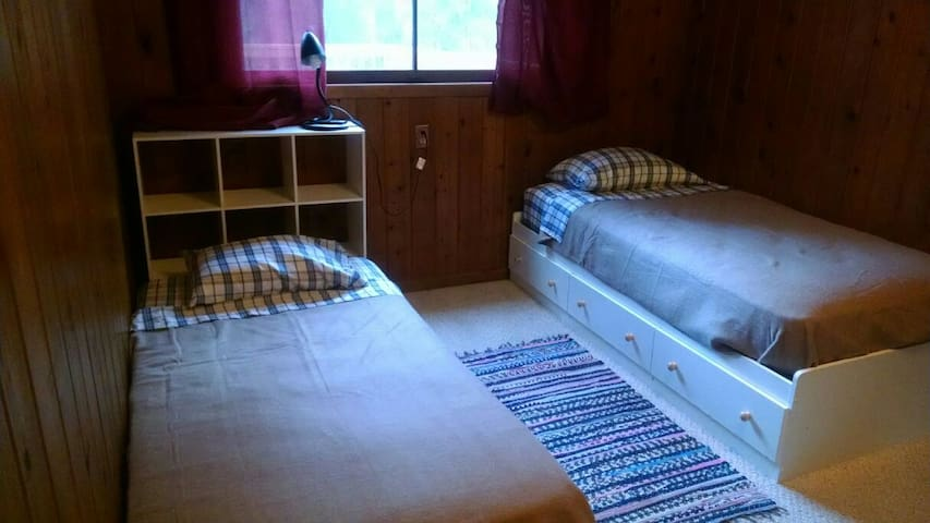 Room can accommodate 2 guests but only on request, and costs $10 more per night.