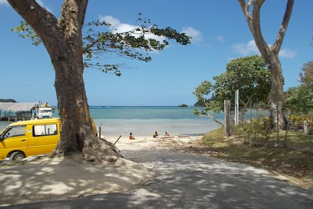 1st Lagoon-Nature-Local culture - Great Location - Port Vila - Dom