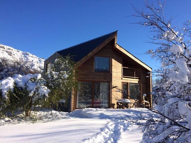 Cabaña nueva, full equipada, 8 personas. New cabin