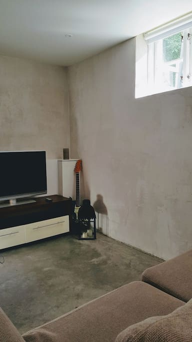Small living room with sofa