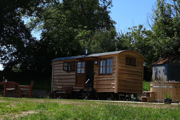 Higher Orchard Shepherds Hut