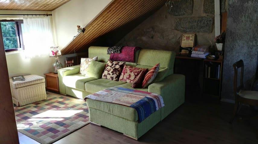 Casa rural con ático independiente - Pontevedra - Haus