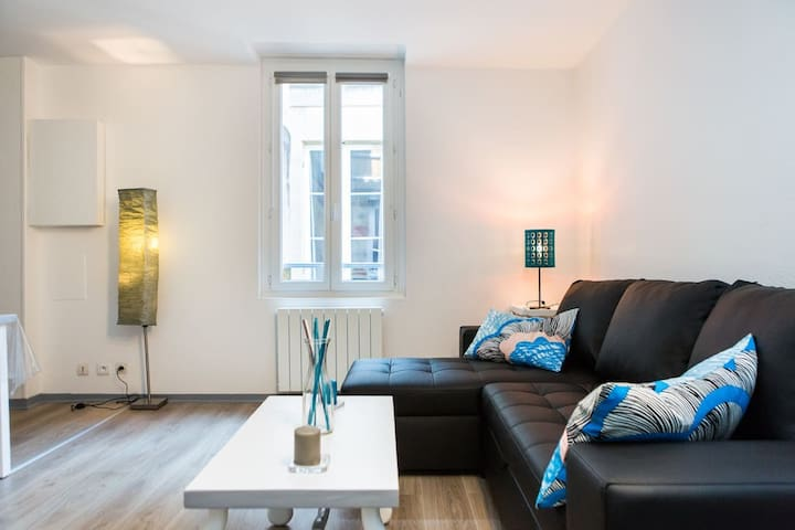 Tiny Apartment with BIG view/statthaus W7