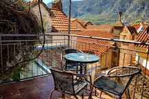 Want to stay in Kotor Old Town and enjoy your time away from the crowds? Well, you are on the right page:) Our place has 2 private terraces that are accessible by only 3 our units