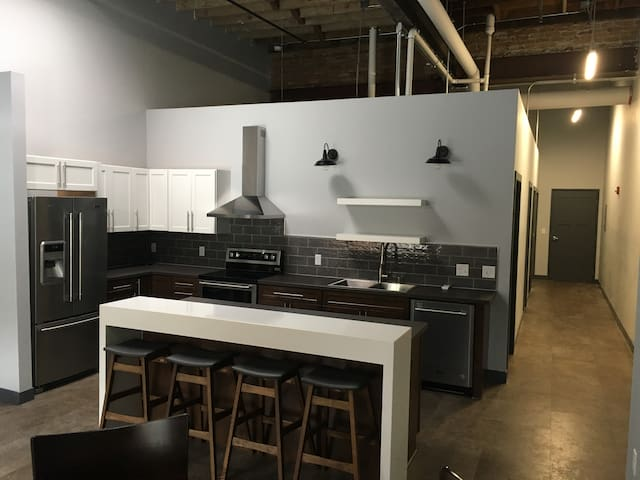 New Loft Style Apartment in Historic Downtown