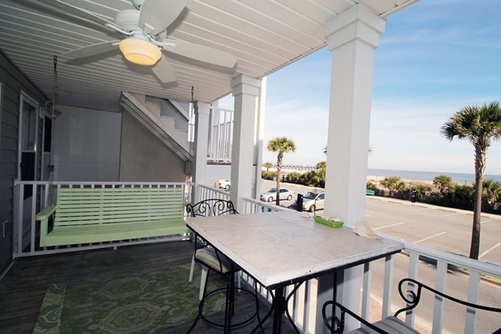 Enjoy Spectacular Views From Your Private Oceanfront Balcony and You Are Just Steps From The Beach