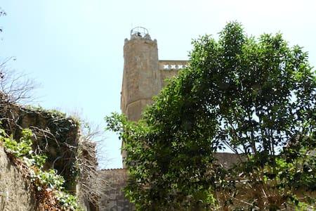 Entre Narbonne et Carcassonne, sur site classé.