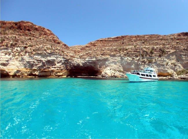Casa-vacanza con tutti i comfort. - Lampedusa - Byt