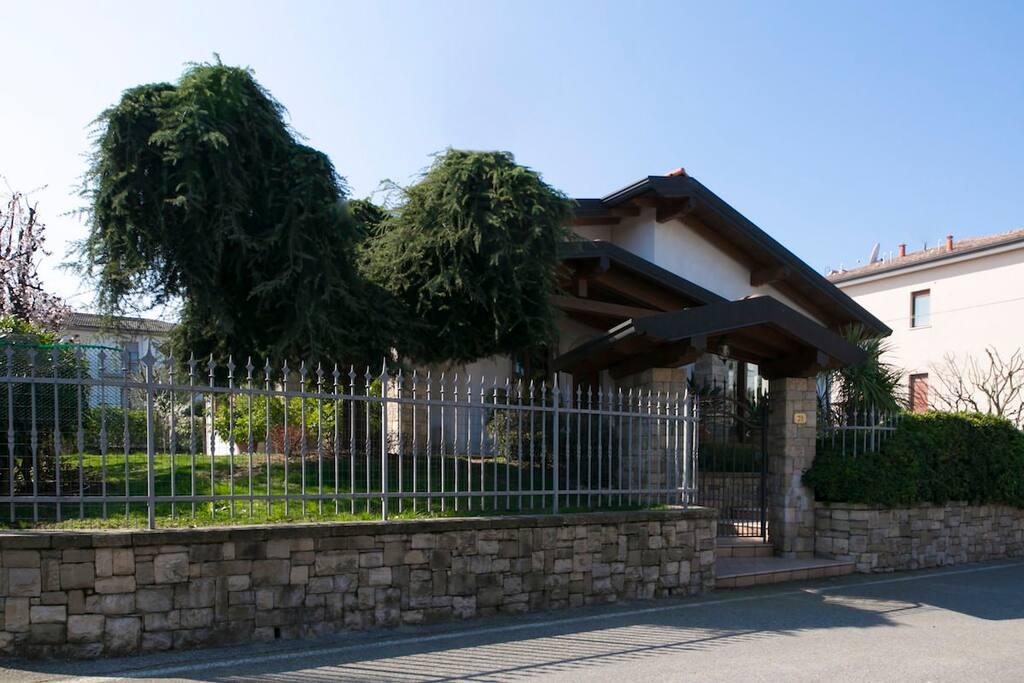Casa privata, possibilità di parcheggio all'esterno