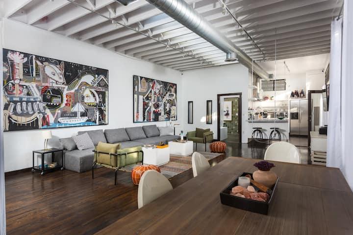 Creative Artist work space