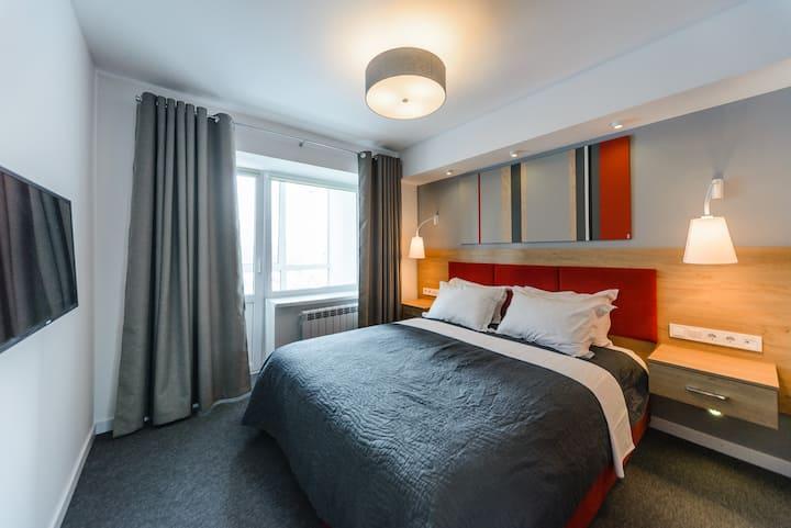 Люкс-апартаменты с 2мя спальнями ID771