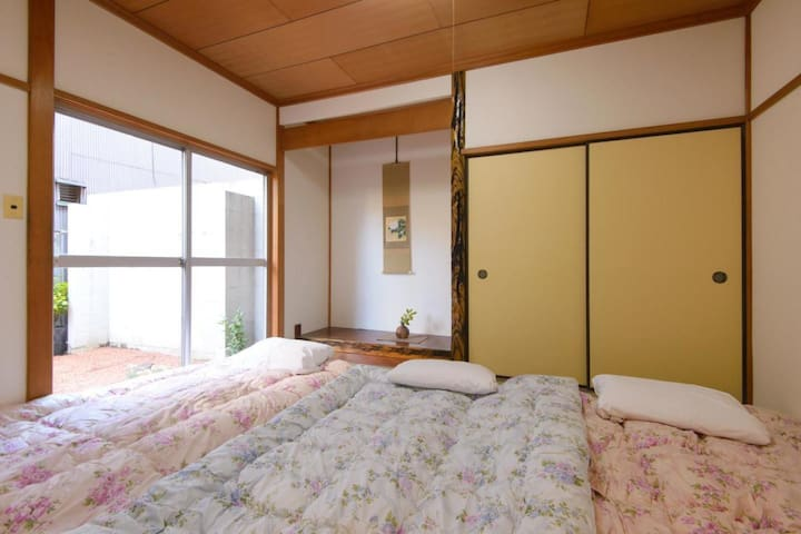5 minutes on foot from Kanazawa Station!A convenient guesthouse for sightseeing base(Japanese style room)