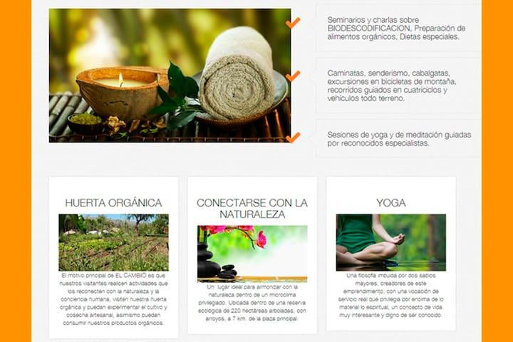 HOSTERIA EL CAMBIO. ECO LODGE SERRANO