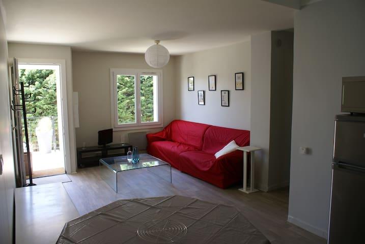 Appartement 3 chambres et jardin - Yvrac - Apartment