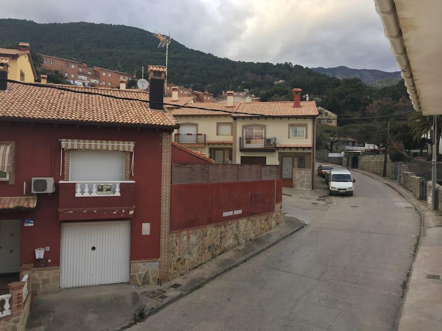 Vistas desde la terraza-View from terrace of apartment