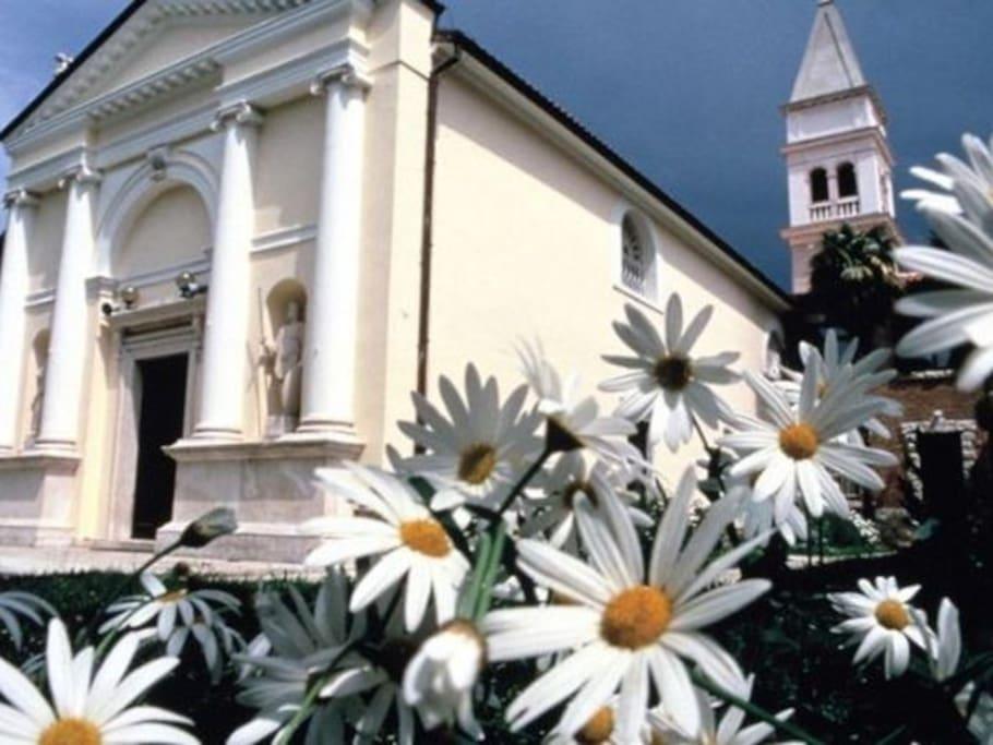 The Parish Church of Strunjan